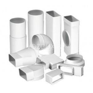 Преимущества вентиляционных труб из ПВХ пластиковых воздуховодов.