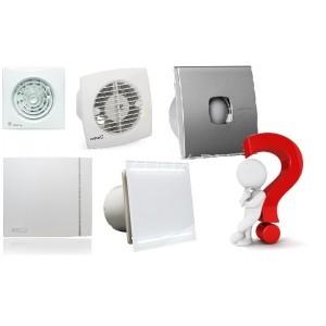 Как выбрать вытяжной вентилятор для ванной и туалета.