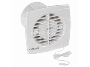 Вентилятор вытяжной CATA B-10 PLUS CORD / B