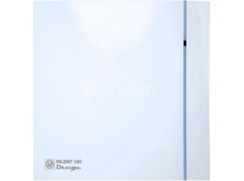 Вентилятор вытяжной Soler&Palau SILENT-100 CHZ DESIGN - 3C