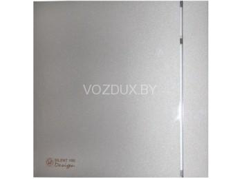 Вентилятор вытяжной Soler&Palau SILENT-100 CZ SILVER DESIGN - 3C