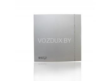 Вентилятор вытяжной Soler&Palau SILENT-100 CZ SILVER DESIGN SWAROVSKI