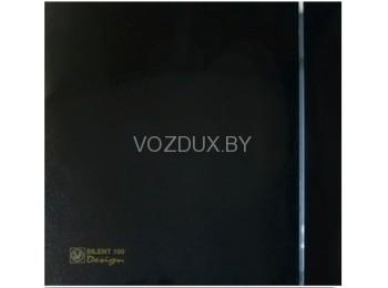 Вентилятор вытяжной Soler&Palau SILENT-100 CRZ BLACK DESIGN-4с