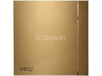 Вентилятор вытяжной Soler&Palau SILENT-200 CZ GOLD DESIGN — 4C