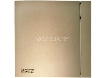 Вентилятор вытяжной Soler&Palau SILENT-100 CZ CHAMPAGNE DESIGN - 4C
