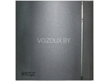 Вентилятор вытяжной Soler&Palau SILENT-100 CZ GREY DESIGN - 4C