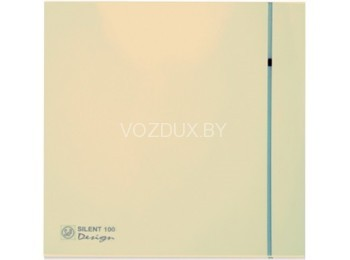 Вентилятор вытяжной Soler&Palau SILENT-200 CZ IVORY DESIGN  - 4C