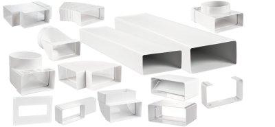 вентиляционные короба пластиковые и каналы
